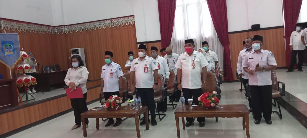 Sekretariat Daerah, pimpinan OPD, Camat dan Sangadi se Bolsel